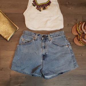 Vintage High Waist Levi Jean Shorts 954 Jean Short